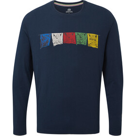 Sherpa Tarcho Langarm T-Shirt Herren rathee